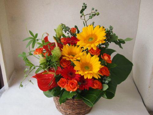 花ギフト|フラワーギフト|誕生日 花|カノシェ話題|スタンド花|ウエディングブーケ|花束|花屋|48752