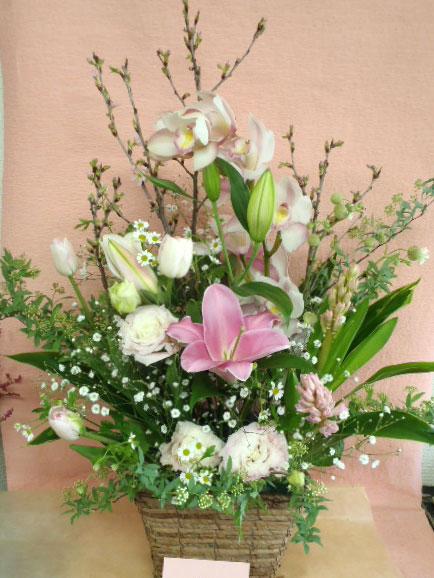 花ギフト|フラワーギフト|誕生日 花|カノシェ話題|スタンド花|ウエディングブーケ|花束|花屋|かよこ 桜