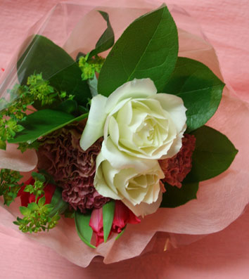 花ギフト|フラワーギフト|誕生日 花|カノシェ話題|スタンド花|ウエディングブーケ|花束|花屋|410bou2