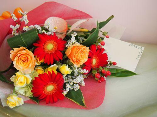 花ギフト|フラワーギフト|誕生日 花|カノシェ話題|スタンド花|ウエディングブーケ|花束|花屋|57390