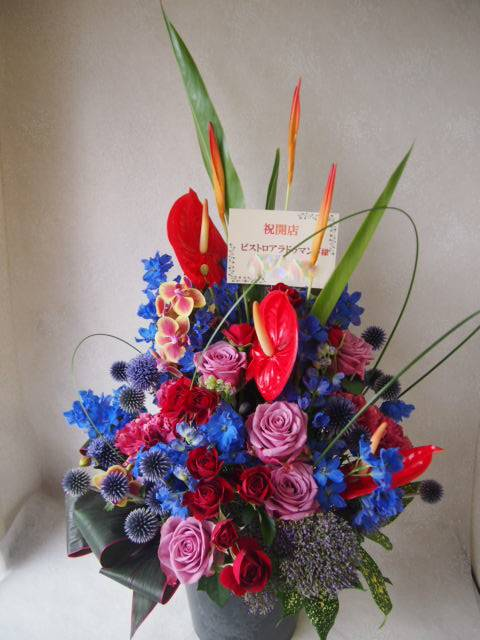 花ギフト|フラワーギフト|誕生日 花|カノシェ話題|スタンド花|ウエディングブーケ|花束|花屋|49112(1)