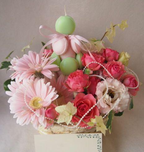 花ギフト|フラワーギフト|誕生日 花|カノシェ話題|スタンド花|ウエディングブーケ|花束|花屋|46587
