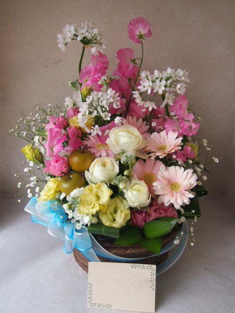 花ギフト|フラワーギフト|誕生日 花|カノシェ話題|スタンド花|ウエディングブーケ|花束|花屋|54225