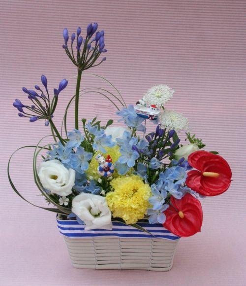 花ギフト|フラワーギフト|誕生日 花|カノシェ話題|スタンド花|ウエディングブーケ|花束|花屋|IMG_0555