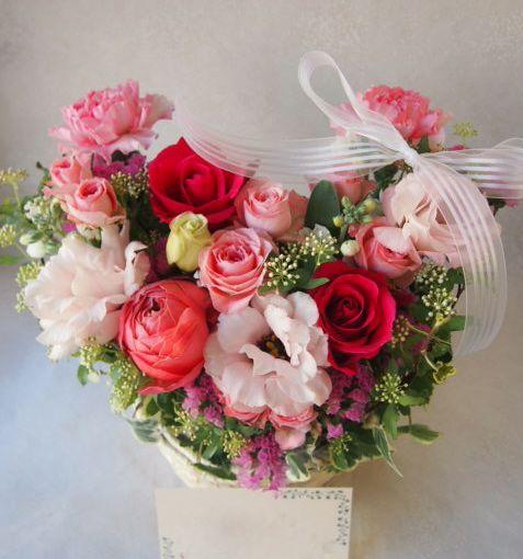 花ギフト|フラワーギフト|誕生日 花|カノシェ話題|スタンド花|ウエディングブーケ|花束|花屋|53372