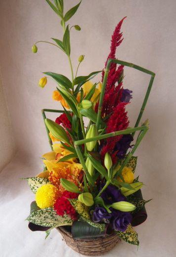 花ギフト|フラワーギフト|誕生日 花|カノシェ話題|スタンド花|ウエディングブーケ|花束|花屋|42667