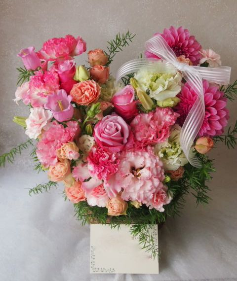 花ギフト|フラワーギフト|誕生日 花|カノシェ話題|スタンド花|ウエディングブーケ|花束|花屋|55197