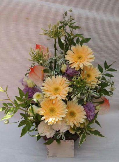 花ギフト|フラワーギフト|誕生日 花|カノシェ話題|スタンド花|ウエディングブーケ|花束|花屋|48793