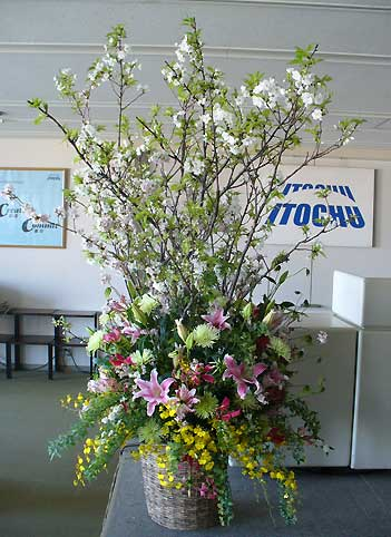 花ギフト フラワーギフト 誕生日 花 カノシェ話題 スタンド花 ウエディングブーケ 花束 花屋 入社式