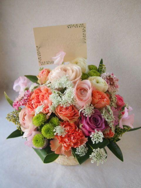 花ギフト|フラワーギフト|誕生日 花|カノシェ話題|スタンド花|ウエディングブーケ|花束|花屋|53029(1)