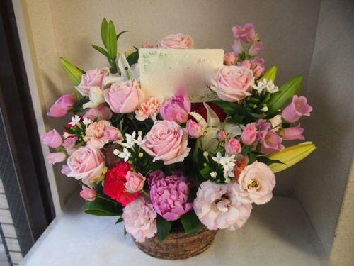 花ギフト|フラワーギフト|誕生日 花|カノシェ話題|スタンド花|ウエディングブーケ|花束|花屋|55821