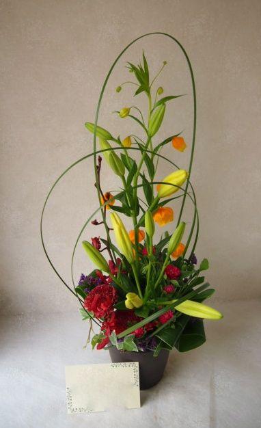 花ギフト|フラワーギフト|誕生日 花|カノシェ話題|スタンド花|ウエディングブーケ|花束|花屋|56892