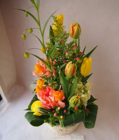 花ギフト|フラワーギフト|誕生日 花|カノシェ話題|スタンド花|ウエディングブーケ|花束|花屋|38406