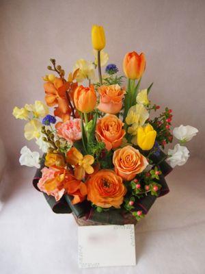 花ギフト|フラワーギフト|誕生日 花|カノシェ話題|スタンド花|ウエディングブーケ|花束|花屋|38913