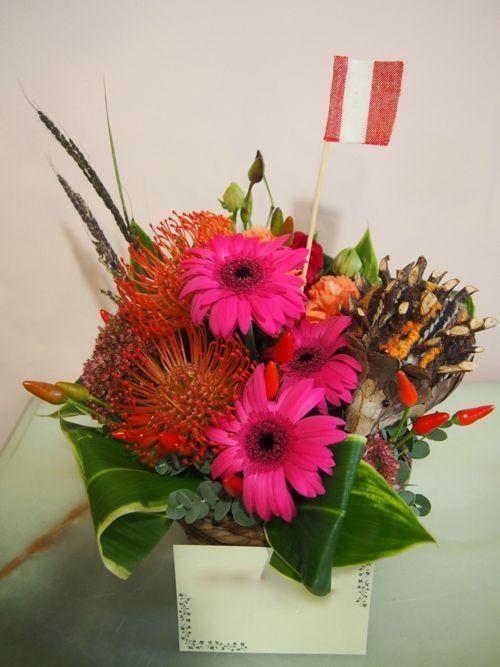 花ギフト|フラワーギフト|誕生日 花|カノシェ話題|スタンド花|ウエディングブーケ|花束|花屋|58617