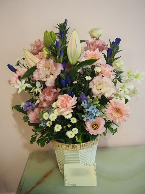 花ギフト|フラワーギフト|誕生日 花|カノシェ話題|スタンド花|ウエディングブーケ|花束|花屋|58282
