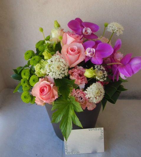 花ギフト|フラワーギフト|誕生日 花|カノシェ話題|スタンド花|ウエディングブーケ|花束|花屋|55871