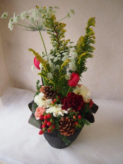 花ギフト|フラワーギフト|誕生日 花|カノシェ話題|スタンド花|ウエディングブーケ|花束|花屋|52283
