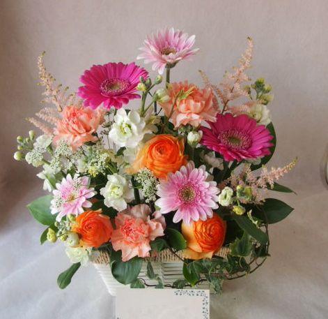 花ギフト|フラワーギフト|誕生日 花|カノシェ話題|スタンド花|ウエディングブーケ|花束|花屋|45724