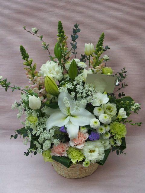 花ギフト|フラワーギフト|誕生日 花|カノシェ話題|スタンド花|ウエディングブーケ|花束|花屋|53479(1)
