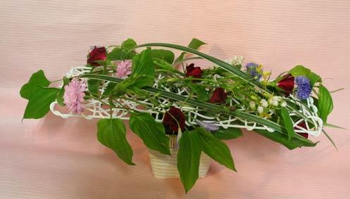花ギフト フラワーギフト 誕生日 花 カノシェ話題 スタンド花 ウエディングブーケ 花束 花屋 IMG_7481