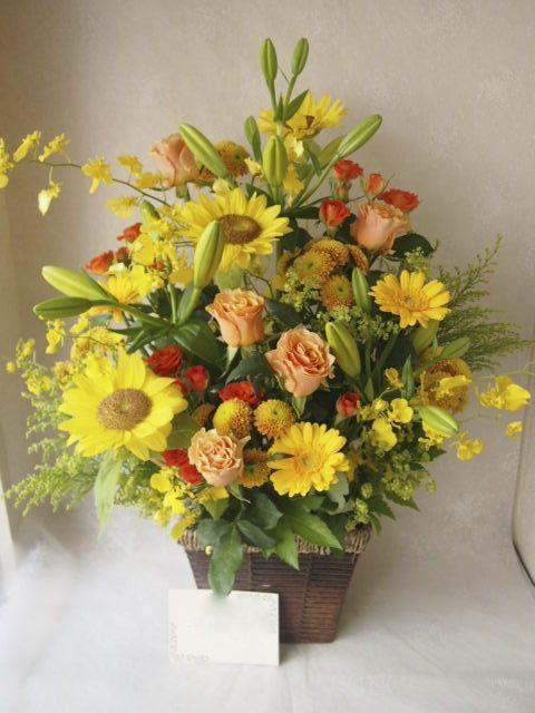 花ギフト|フラワーギフト|誕生日 花|カノシェ話題|スタンド花|ウエディングブーケ|花束|花屋|49012