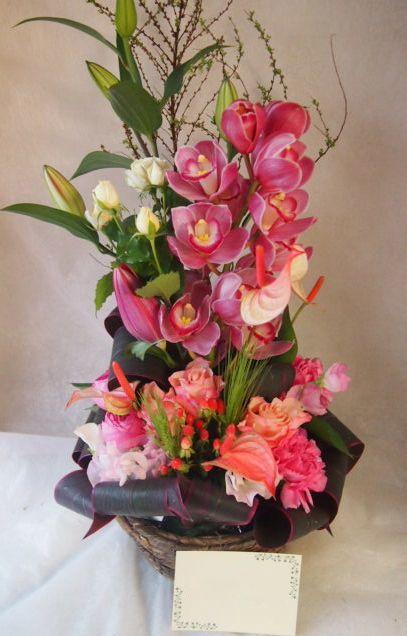 花ギフト|フラワーギフト|誕生日 花|カノシェ話題|スタンド花|ウエディングブーケ|花束|花屋|45799