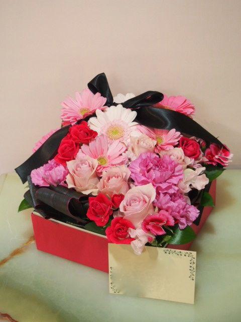 花ギフト|フラワーギフト|誕生日 花|カノシェ話題|スタンド花|ウエディングブーケ|花束|花屋|53761