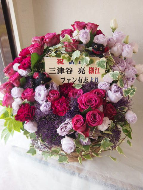 花ギフト|フラワーギフト|誕生日 花|カノシェ話題|スタンド花|ウエディングブーケ|花束|花屋|49182