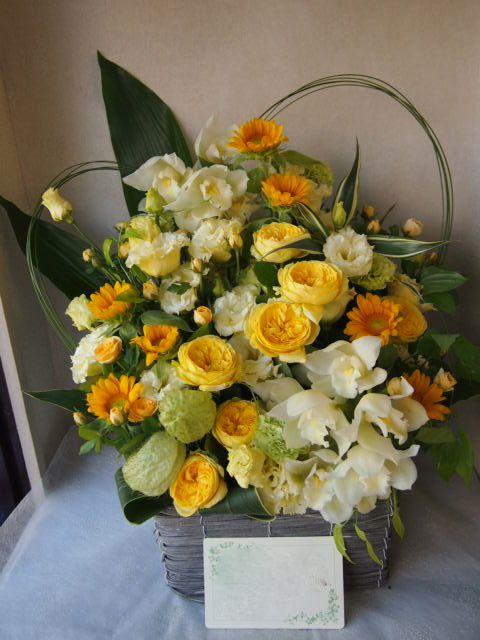 花ギフト|フラワーギフト|誕生日 花|カノシェ話題|スタンド花|ウエディングブーケ|花束|花屋|P8311908