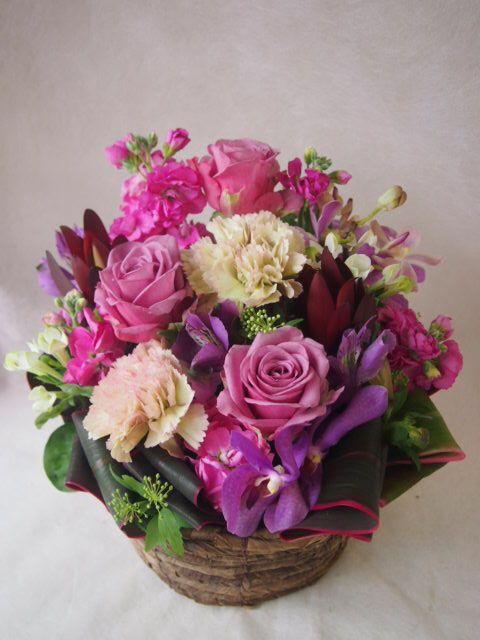 花ギフト|フラワーギフト|誕生日 花|カノシェ話題|スタンド花|ウエディングブーケ|花束|花屋|46780