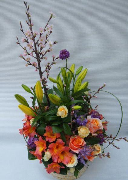 花ギフト|フラワーギフト|誕生日 花|カノシェ話題|スタンド花|ウエディングブーケ|花束|花屋|54514