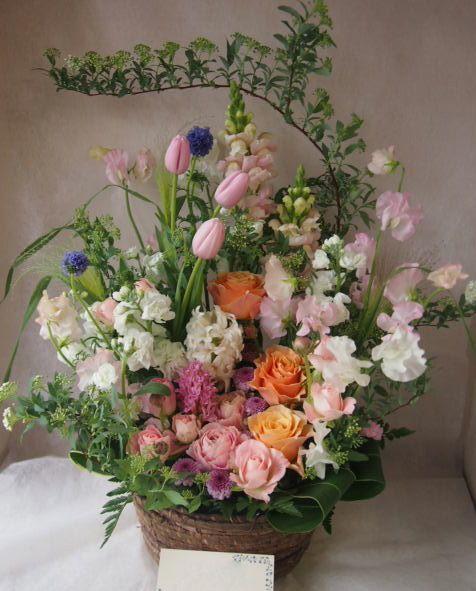 花ギフト|フラワーギフト|誕生日 花|カノシェ話題|スタンド花|ウエディングブーケ|花束|花屋|46264