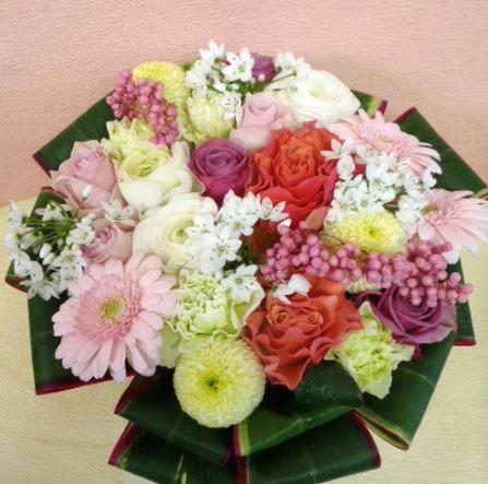花ギフト フラワーギフト 誕生日 花 カノシェ話題 スタンド花 ウエディングブーケ 花束 花屋 chika-p