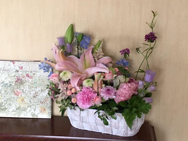 花ギフト|フラワーギフト|誕生日 花|カノシェ話題|スタンド花|ウエディングブーケ|花束|花屋|IMG_1031