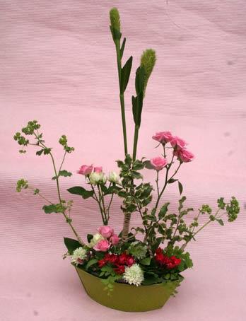 花ギフト フラワーギフト 誕生日 花 カノシェ話題 スタンド花 ウエディングブーケ 花束 花屋 IMG_7522