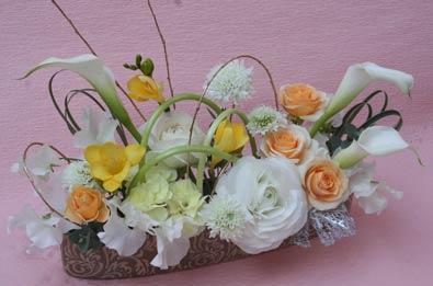 花ギフト|フラワーギフト|誕生日 花|カノシェ話題|スタンド花|ウエディングブーケ|花束|花屋|valentine2012_a_04
