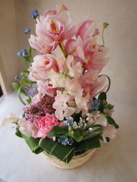 花ギフト|フラワーギフト|誕生日 花|カノシェ話題|スタンド花|ウエディングブーケ|花束|花屋|53658