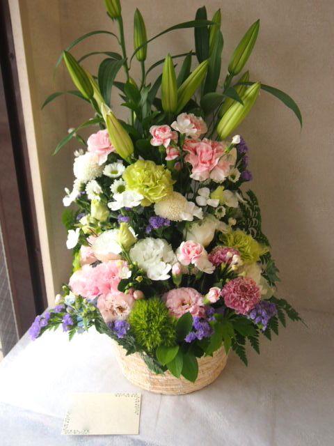 花ギフト|フラワーギフト|誕生日 花|カノシェ話題|スタンド花|ウエディングブーケ|花束|花屋|56103(1)