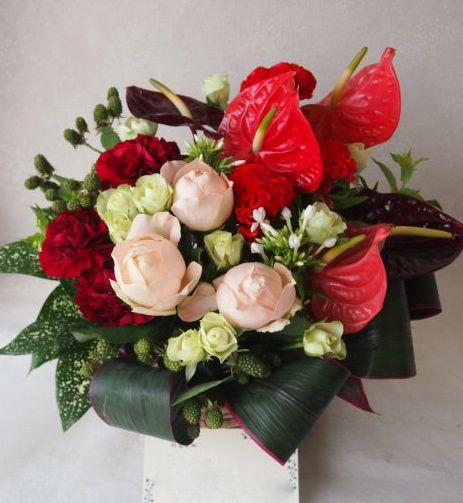 花ギフト|フラワーギフト|誕生日 花|カノシェ話題|スタンド花|ウエディングブーケ|花束|花屋|49169