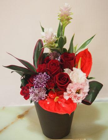 花ギフト|フラワーギフト|誕生日 花|カノシェ話題|スタンド花|ウエディングブーケ|花束|花屋|56346