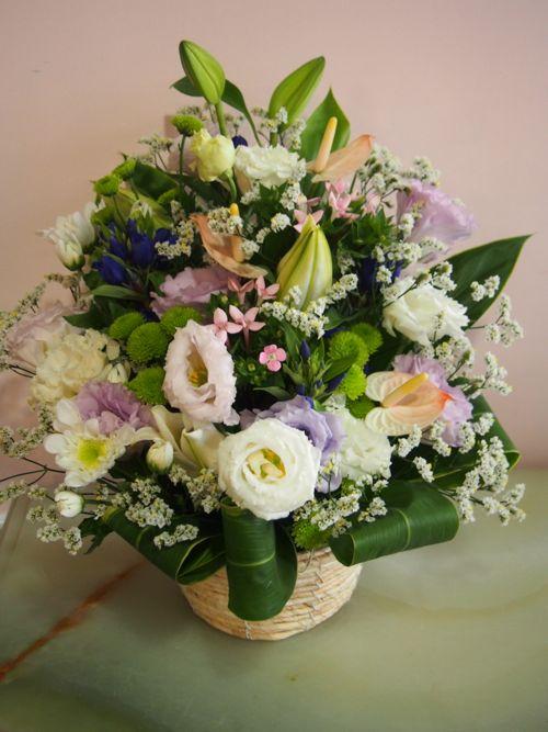 花ギフト|フラワーギフト|誕生日 花|カノシェ話題|スタンド花|ウエディングブーケ|花束|花屋|57580