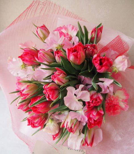 花ギフト|フラワーギフト|誕生日 花|カノシェ話題|スタンド花|ウエディングブーケ|花束|花屋|54135