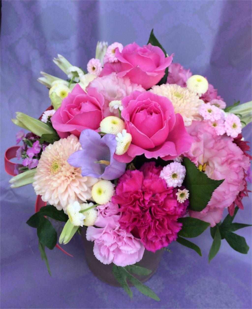 花ギフト|フラワーギフト|誕生日 花|カノシェ話題|スタンド花|ウエディングブーケ|花束|花屋|IMG_5116