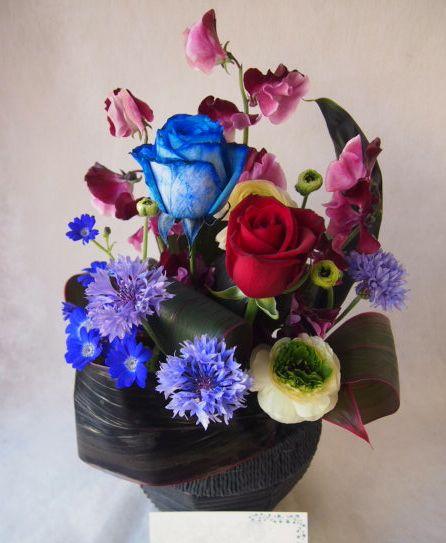 花ギフト|フラワーギフト|誕生日 花|カノシェ話題|スタンド花|ウエディングブーケ|花束|花屋|45854