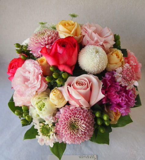 花ギフト|フラワーギフト|誕生日 花|カノシェ話題|スタンド花|ウエディングブーケ|花束|花屋|53575