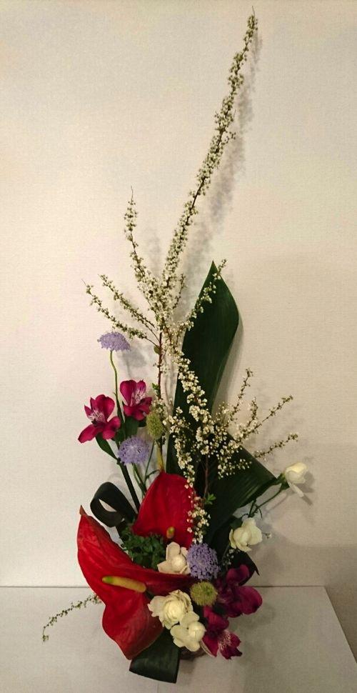 花ギフト|フラワーギフト|誕生日 花|カノシェ話題|スタンド花|ウエディングブーケ|花束|花屋|DSC_0027