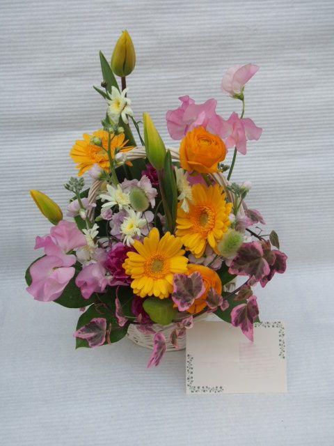 花ギフト|フラワーギフト|誕生日 花|カノシェ話題|スタンド花|ウエディングブーケ|花束|花屋|53096