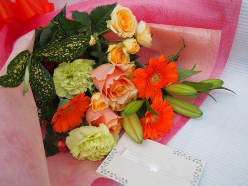花ギフト|フラワーギフト|誕生日 花|カノシェ話題|スタンド花|ウエディングブーケ|花束|花屋|51018