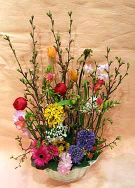 花ギフト|フラワーギフト|誕生日 花|カノシェ話題|スタンド花|ウエディングブーケ|花束|花屋|さくら